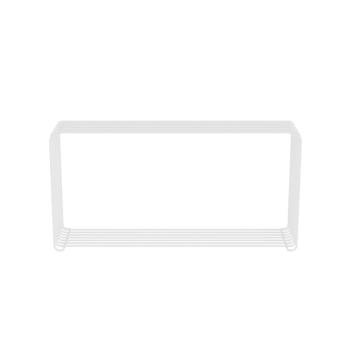 Étagère Panton Wire Extended 18,8 cm, blanc de Montana .