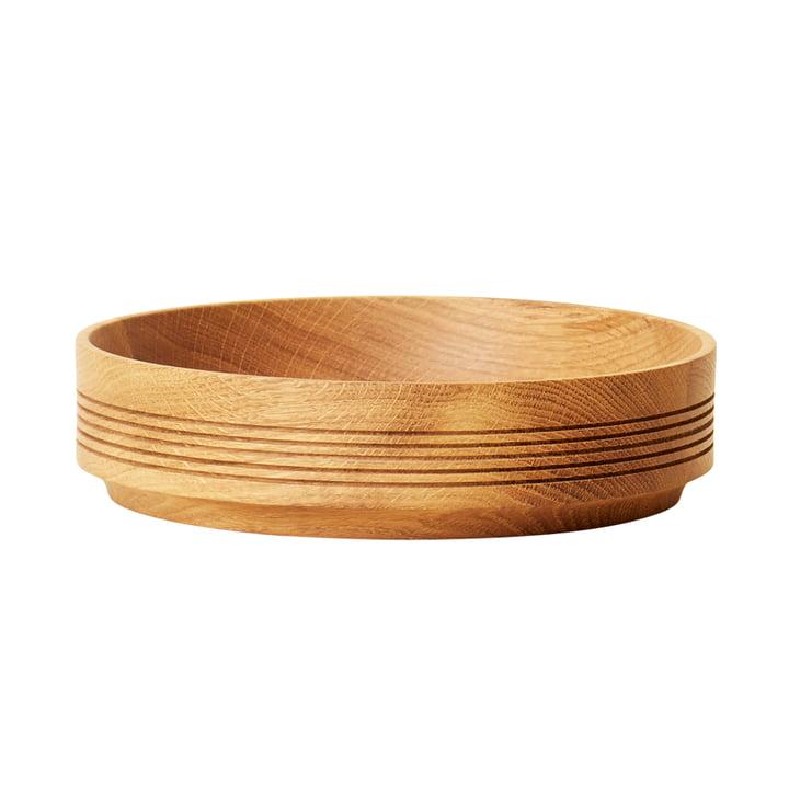 Section bois Section, Ø 24 cm H 6 cm, chêne de Form & Refine