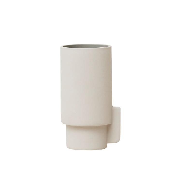 Vase Alcoa, petit, Ø 6,3 H 12,5 cm, gris clair de Form & Refine