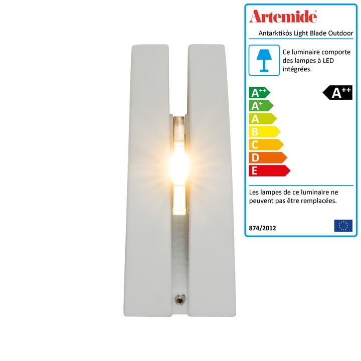 Antarktikós Light Blade extérieur LED Antarktikós Light Blade par Artemide