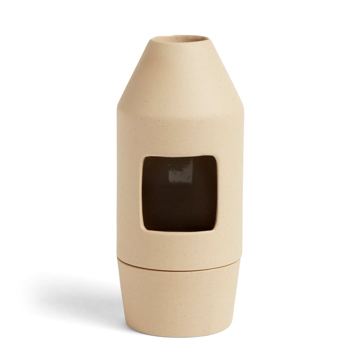 Diffuseur de parfum Chim Chim, Ø 6,5 x H 14,5 cm, beige clair par Hay .
