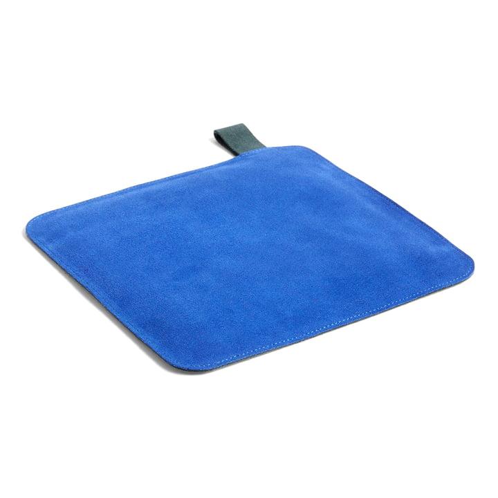 Porte-pot en Suede, 21,5 x 21,5 cm, bleu par Hay .