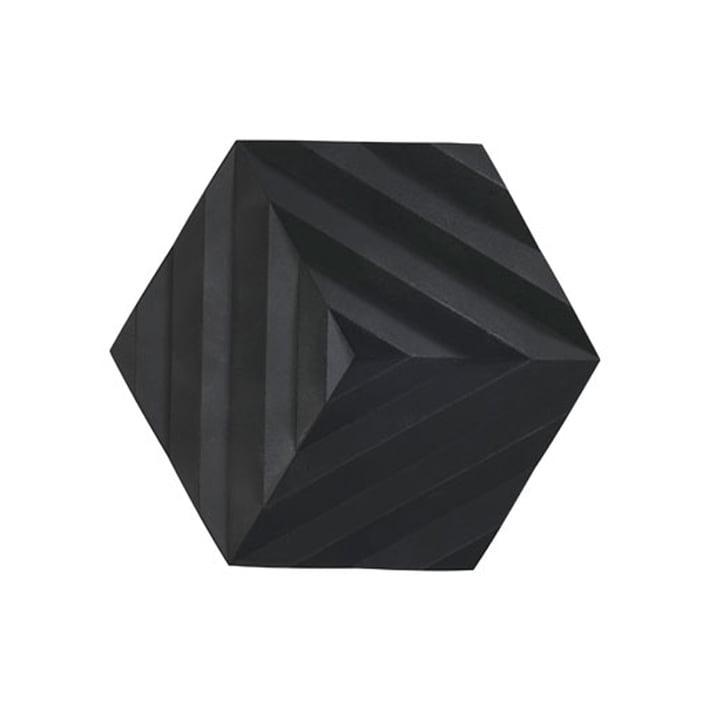 Ori plat Ori, 16 x 14 cm, Fold / noir de Zone Denmark