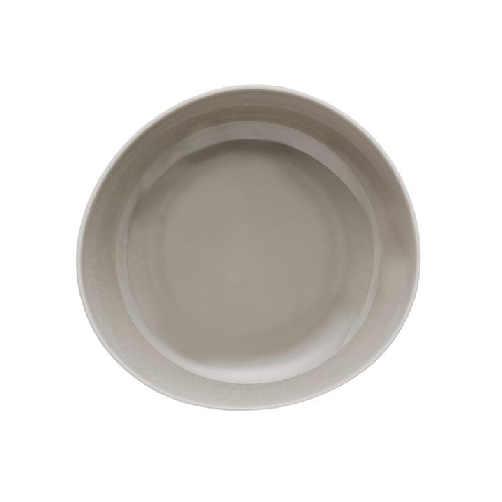 Assiette Junto Ø 22 cm de profondeur, pearl grey par Rosenthal
