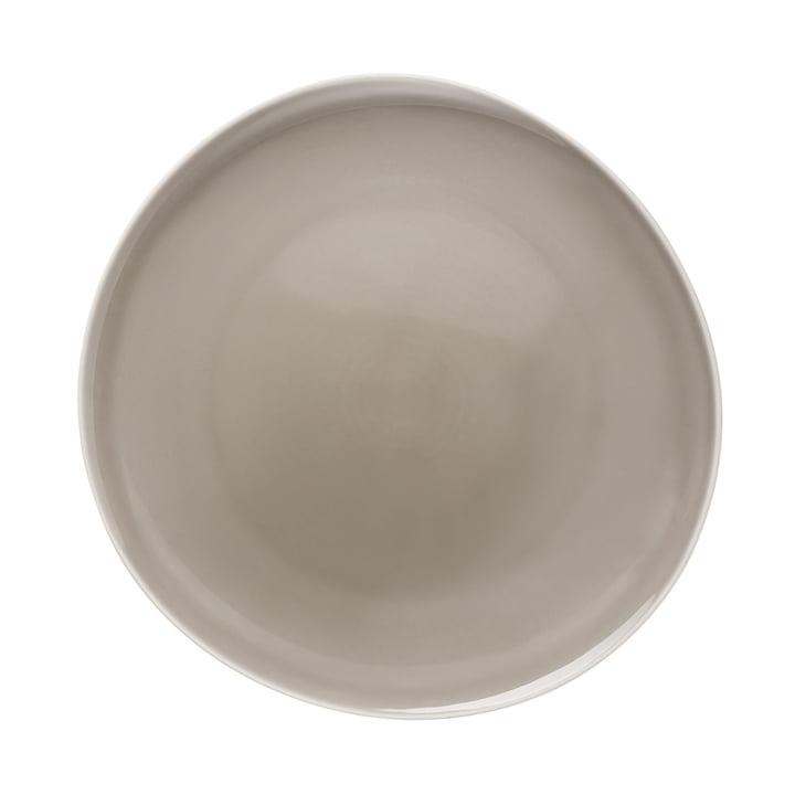 Assiette plate Junto Ø 27 cm, pearl grey par Rosenthal