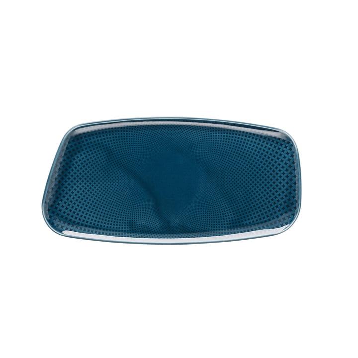 Assiette Junto, 30 x 15 cm, ocean blue par Rosenthal