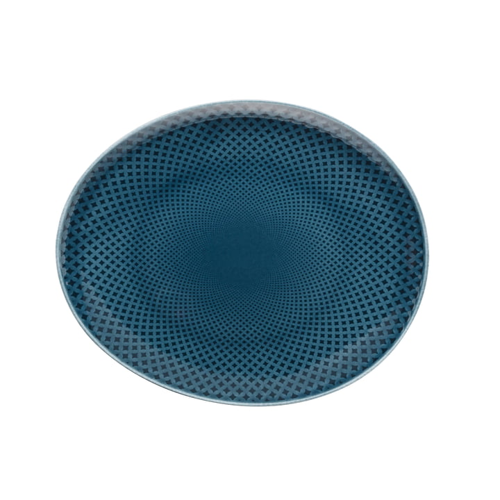 Assiette Junto Ø 22 cm plate, ocean blue par Rosenthal