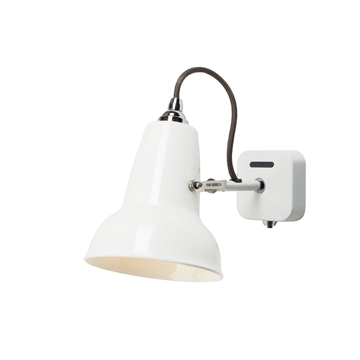 Applique murale Original 1227 Mini Ceramic, blanc pur d' Anglepoise