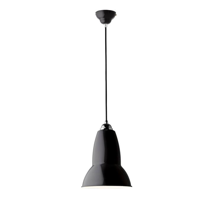 Suspension originale 1227 Midi, noir de jais (câble: noir) d' Anglepoise