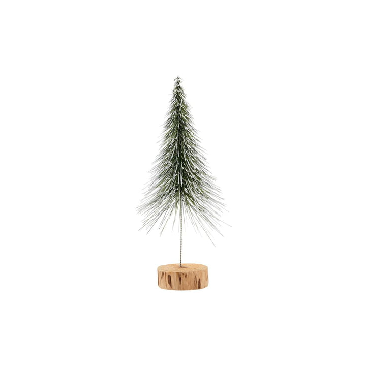 Sapin de Noël Spinkle H 28 cm, nature par House Doctor