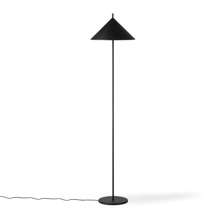 Le lampadaire Triangle, noir mat de HKliving