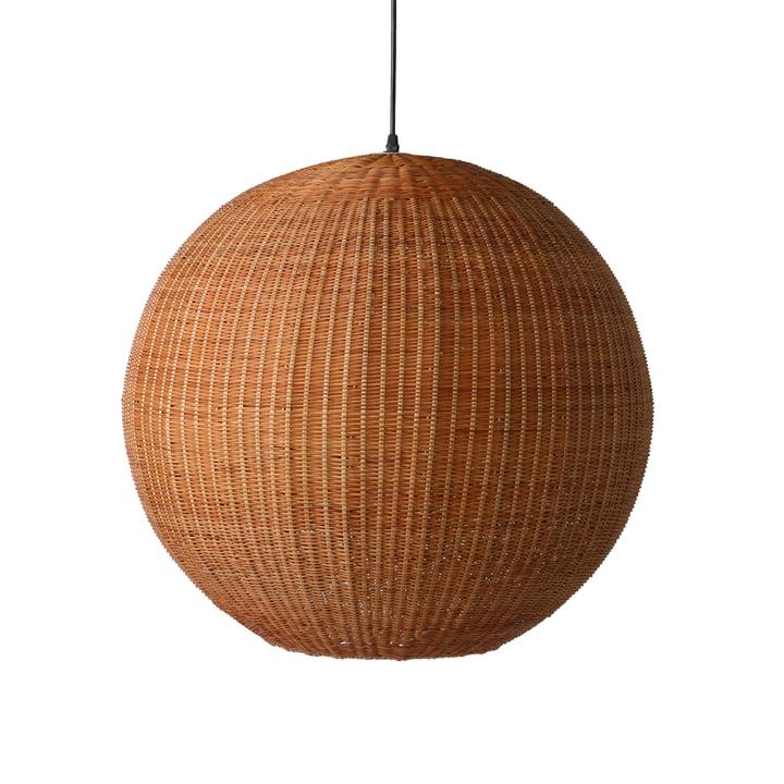 La suspension en bambou Ball, Ø 60 cm, naturel par HKliving