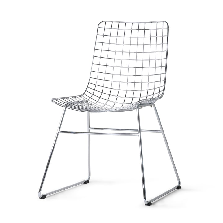 HKliving - Chaise Wire, chrome