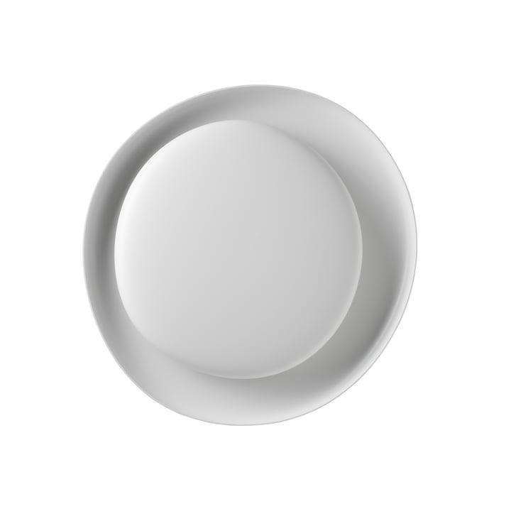 Applique et plafonnier LED Bahia Mini, blanc (dimmable) par Foscarini