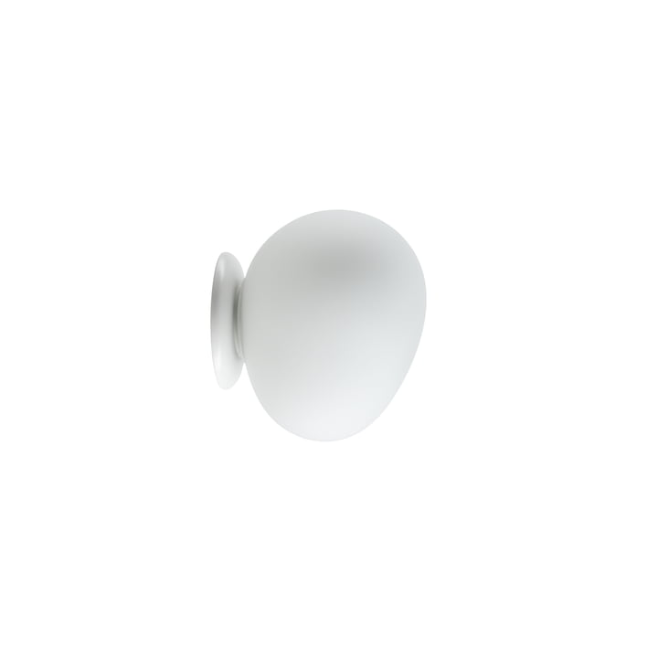 Gregg et plafonnier Gregg LED, piccola / blanc par Foscarini