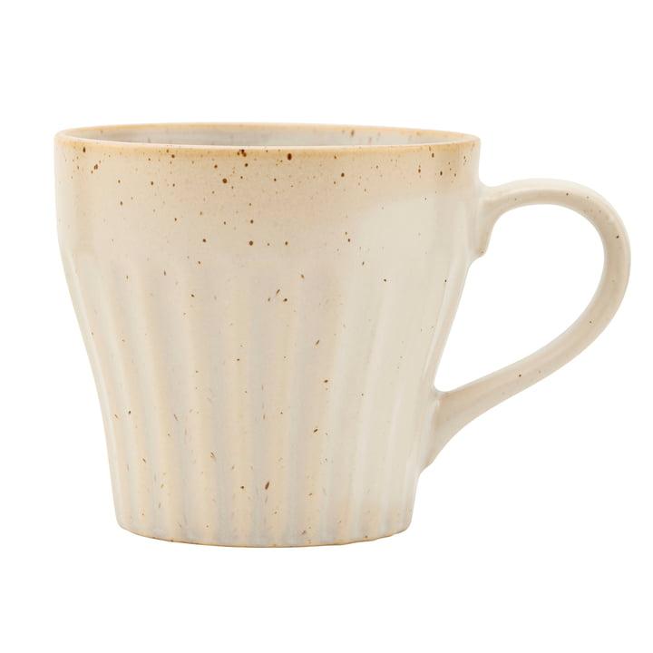 Mug avec anse, Berica, beige par House Doctor