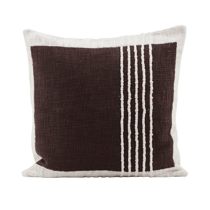 Yarn oreiller The Yarn, marron par House Doctor