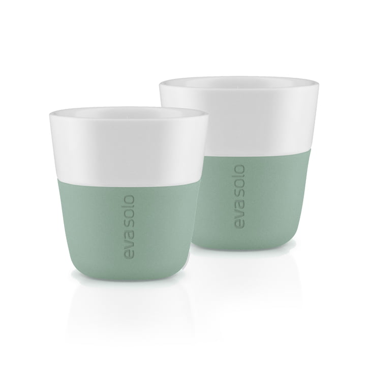 Les tasses à expresso (lot de 2), faded green par Eva Solo