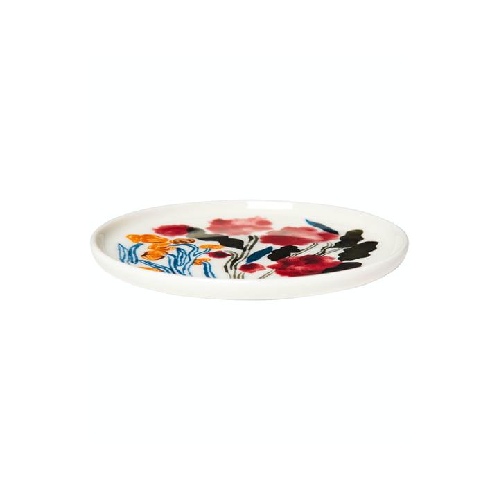 Le disque Hyhmä Ø 1 3. 5 cm, blanc / bleu / rouge Marimekko