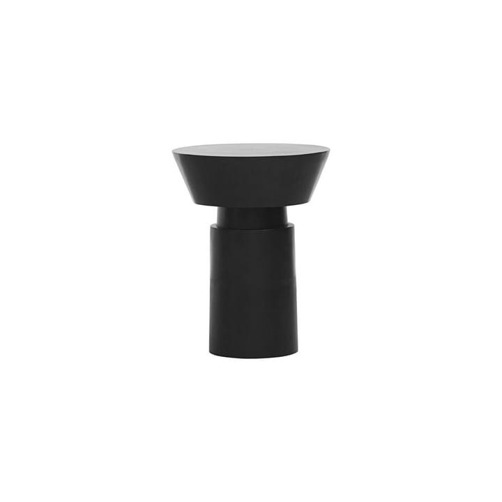 La table d'appoint Nanded, Ø 40 x H 50 cm, noire par House Doctor