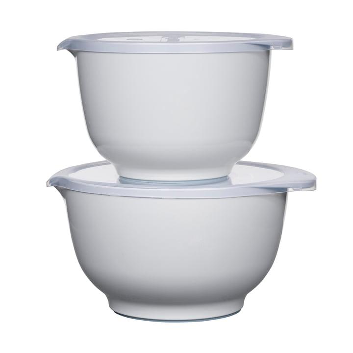 Ensemble de bols à mélanger Margrethe, blanc (4 pièces) de Rosti