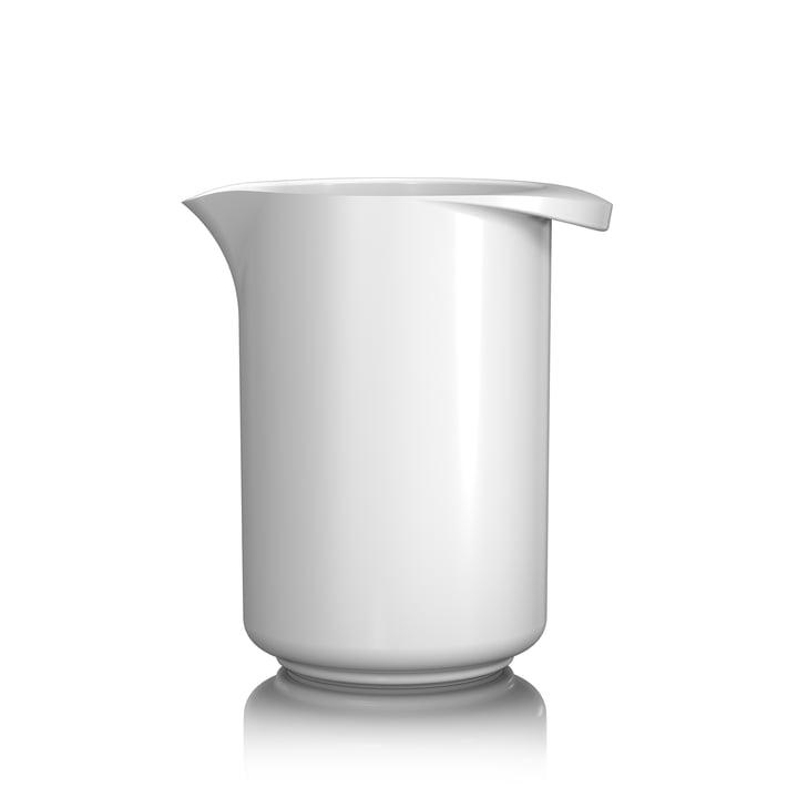 Le bécher mélangeur Margrethe, 0,5 l, blanc de Rosti