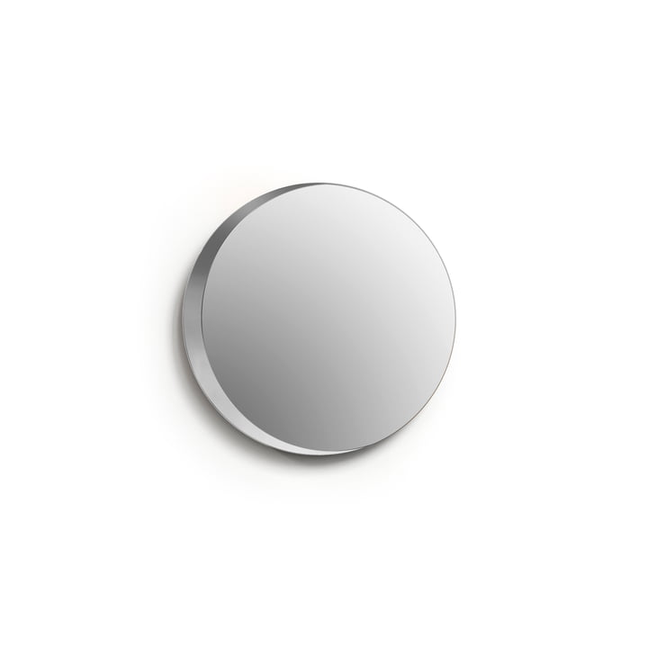 Miroir Cres, Ø 25 cm / transparent de Caussa