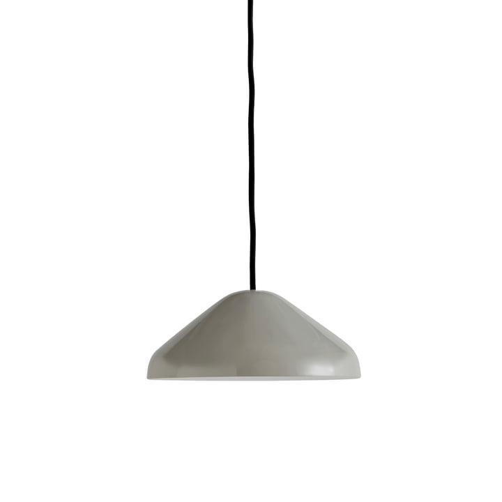 La suspension Pao Steel, Ø 23 x H 10 cm, gris froid par Hay