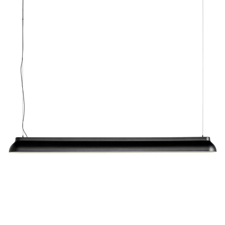 Le PC Linear rod pendentif lumière, noir doux de Hay