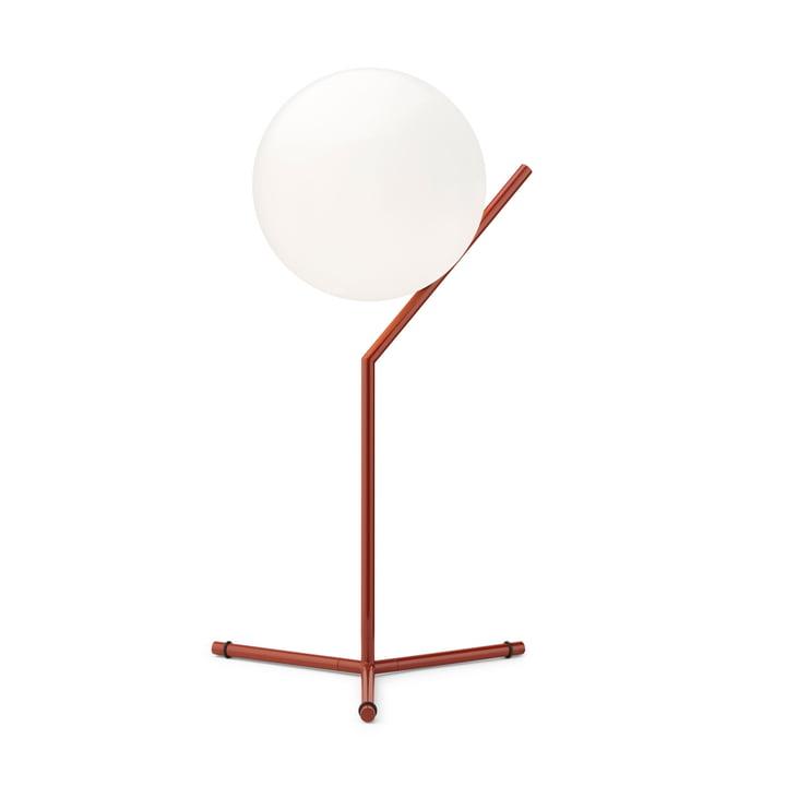 Lampe de table IC T1 High BRO, rouge bordeaux - Flos