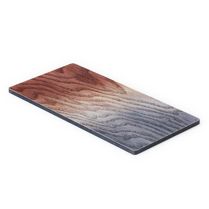 Le A Tribute to Wood Tapas Board petit, brun / gris de applicata