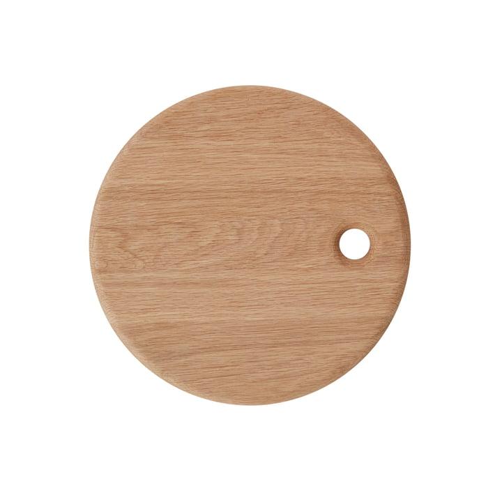 La planche à découper Yumi, Ø 31,5 cm, naturel de OYOY