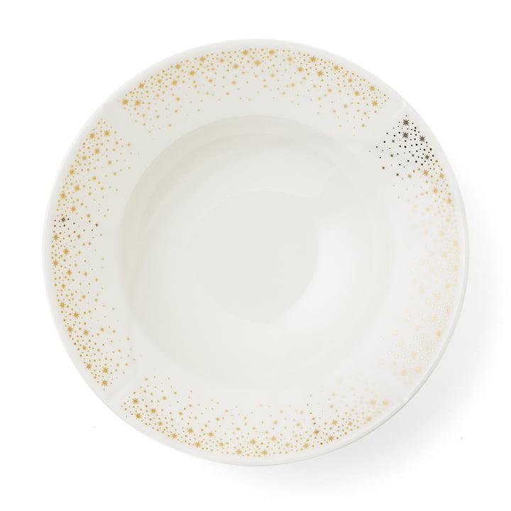 Les Moments Grand Cru assiette profonde, Ø 25 cm, blanc / or par Rosendahl