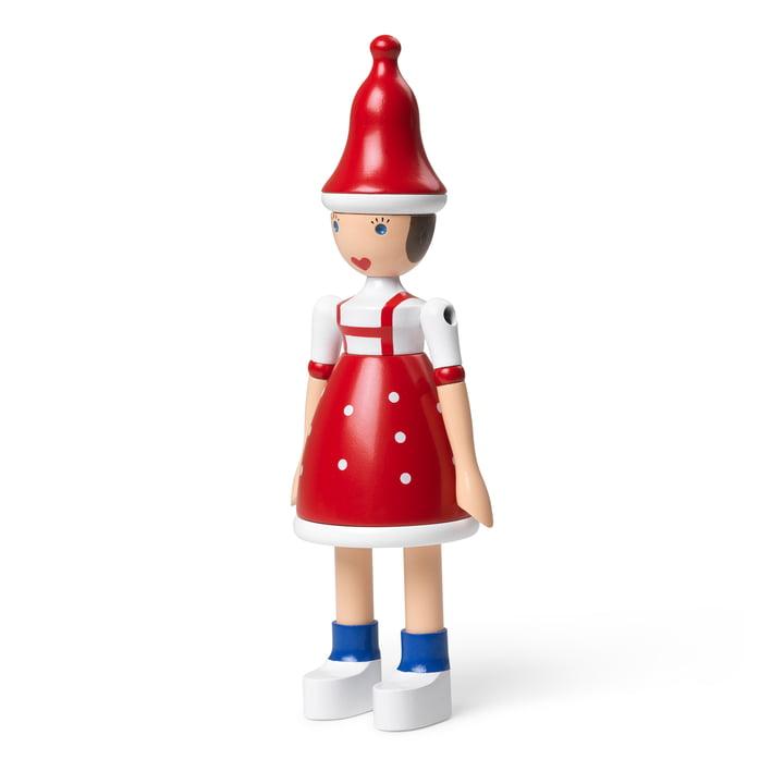 Lise, fille de Noël, bois de hêtre de Kay Bojesen
