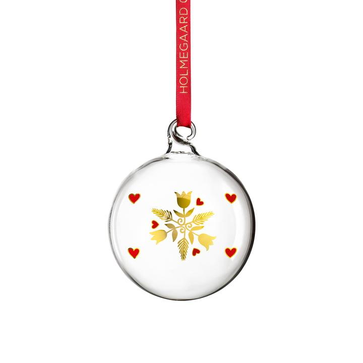 La boule de Noël 2020 de Holmegaard en clair