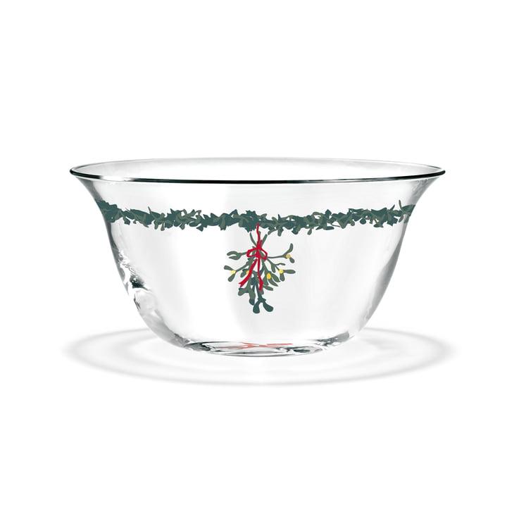 Le bol de Noël, Ø 12,5 cm, transparent de Holmegaard