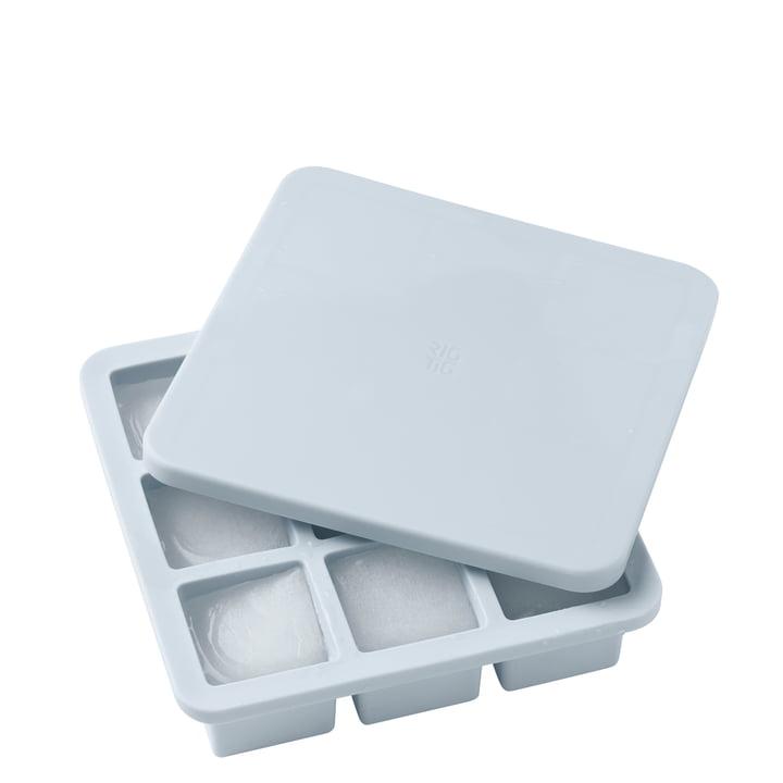 La Freeze-It machine à glaçons avec couvercle large, bleu clair de Rig-Tig par Stelton
