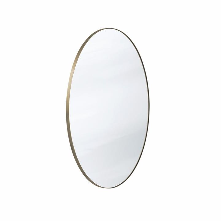 Le miroir Amore SC56 Ø70 cm, bronze / argent de & tradition