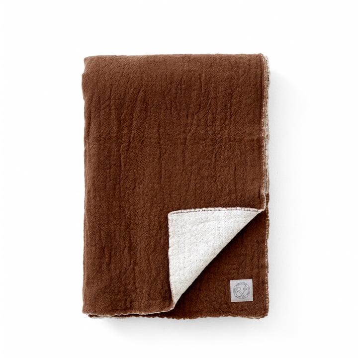La couverture de laine Collect SC34, 130 x 180 cm, nuage / ambre par & tradition