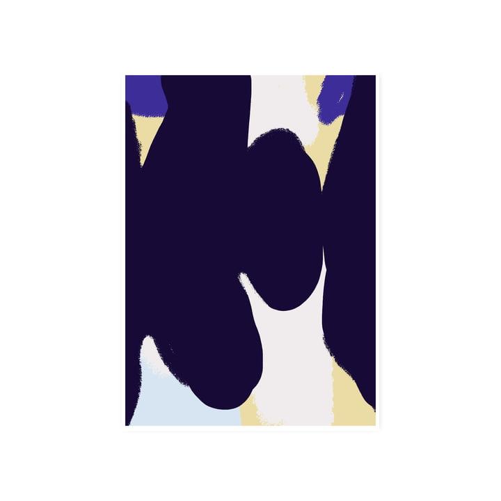 L'affiche Ink Grain 01, 50 x 70 cm de Paper Collective