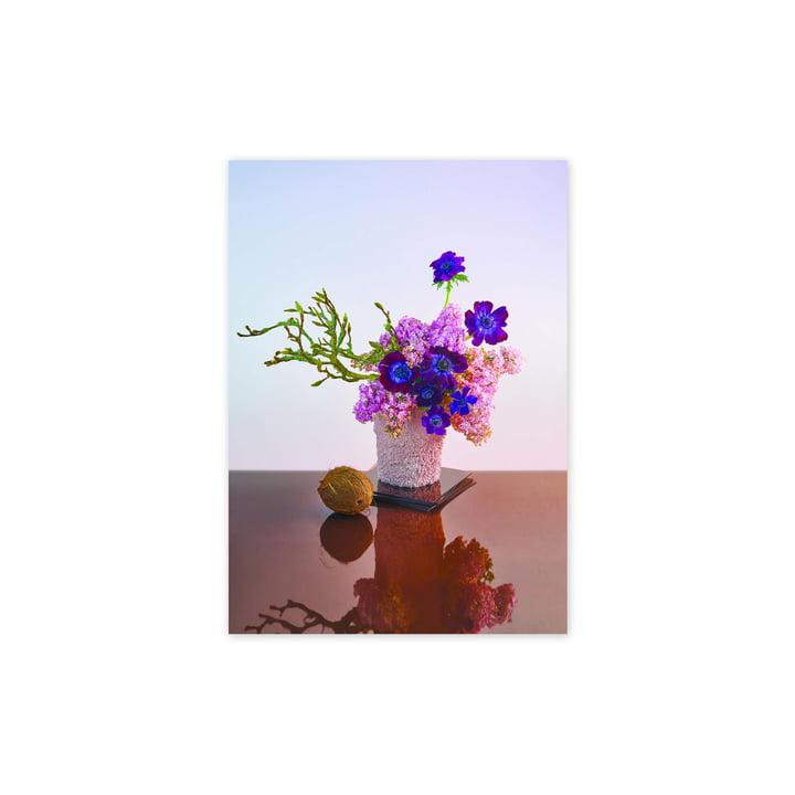 L'affiche BLOOM 01 Amber, 30 x 40 cm de Paper Collective