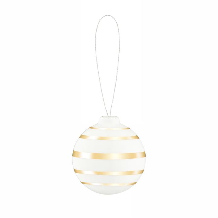 Omaggio Boule de Noël, Ø 5 cm, dorée par Kähler Design