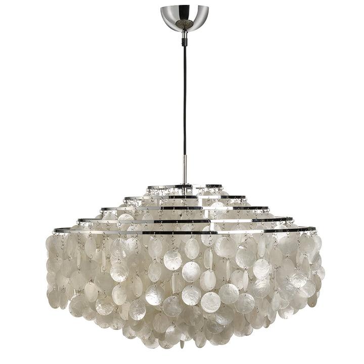 Fun 11DM lampe à suspension de Verpan en chrome