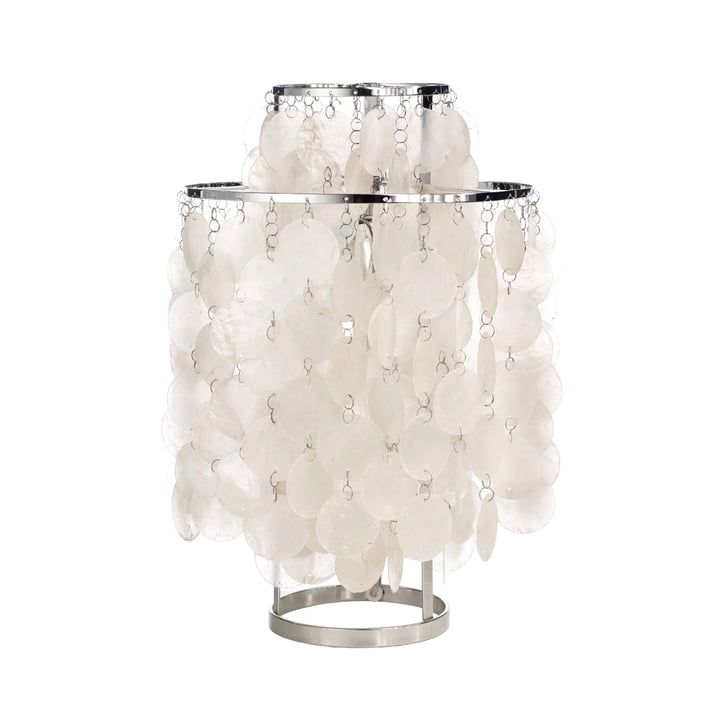 Fun 2TM lampe de table Ø 27 cm de Verpan en blanc / argent