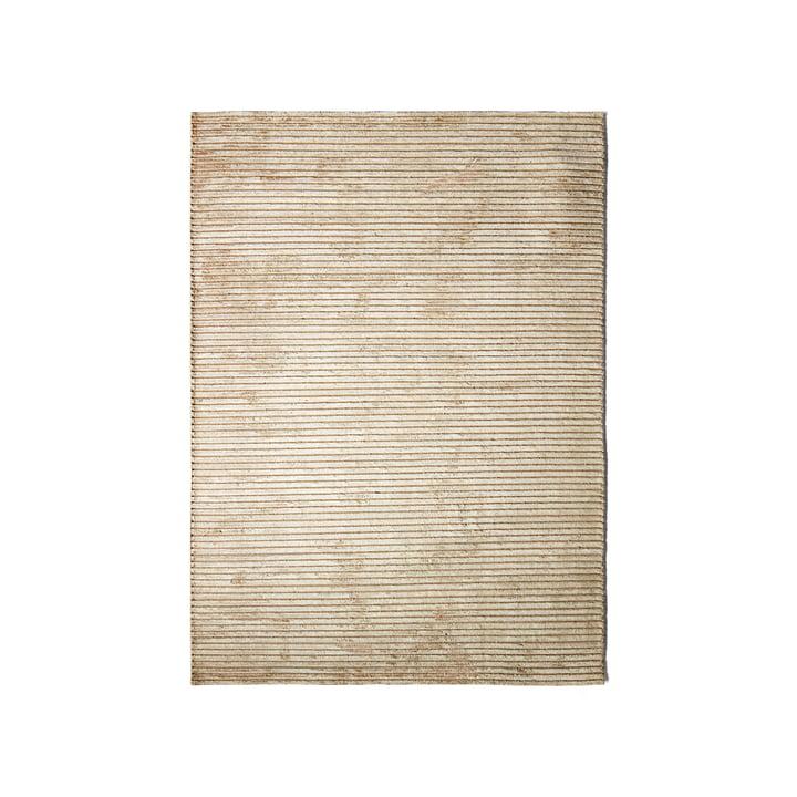 Le tapis Houkime 170 x 240 cm, beige par Menu