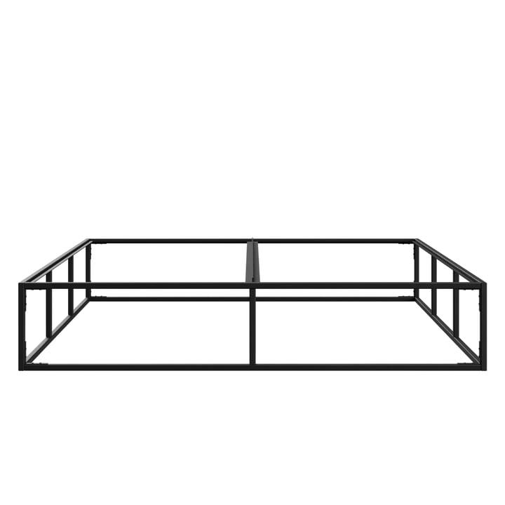 Le lit double de l'établissement Nichba Design