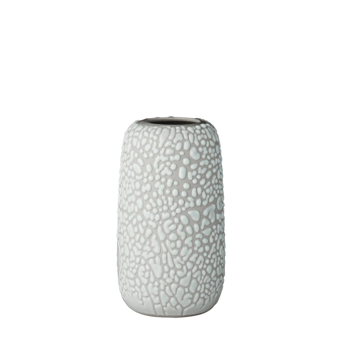 Le vase Gemma, petit, gris clair par AYTM