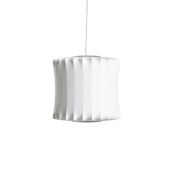 Le luminaire Nelson Lantern Bubble suspendu S, off white de Hay