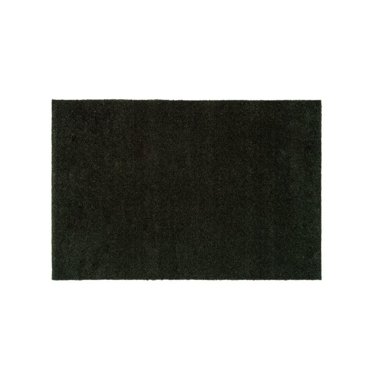 Le paillasson Unicolor en vert foncé de tica copenhagen