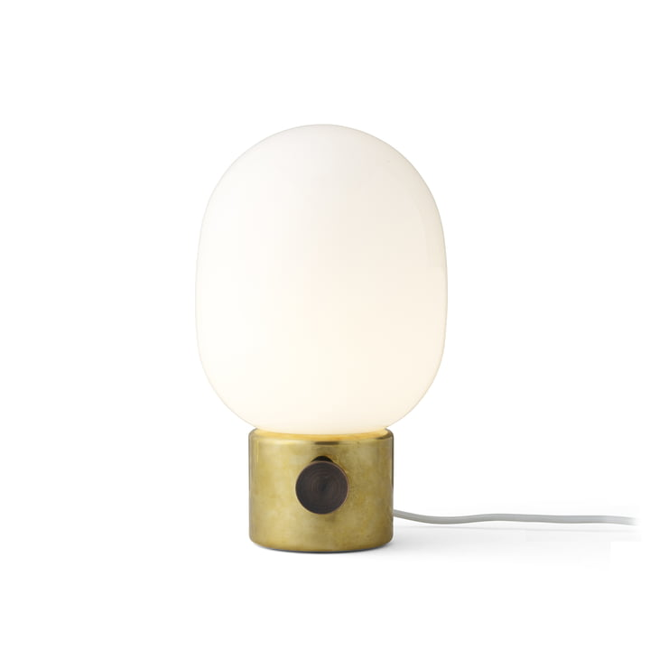 JWDA Lampe de table de Menu en laiton poli